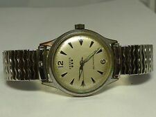 Vintage  Benrus 3 Star Series #7001 Self Winding/Automatic Men's Watch Stainless