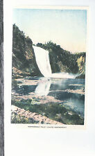Montmorency Falls Montmorency River Quebec Canada Unused Postcard 8264
