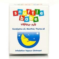 Snuffle Babe Vapour Rub | Inhalation Vapour Ointment - 3 Packs