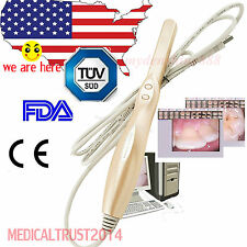 US HOT Dental Intraoral Oral Camera 4 Mega Pixels Dynamic w 6-LED lights USB 2.0