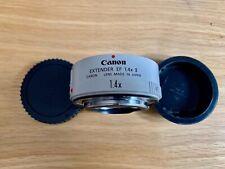 Canon 1x4 extender / Arri / Red