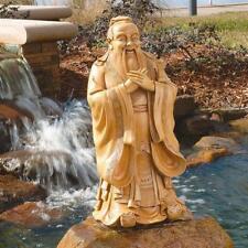 "Confucius Asian Chinese Sage Philosopher Garden Statue 24"""