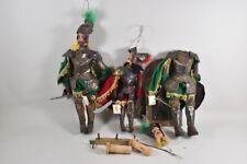 g61b13- Konvolut Marionetten, Ritter