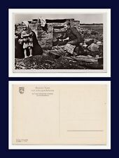 New listing German Occupation Of Russian Territory Ww Ii Real Photo Oven Built From Rubble