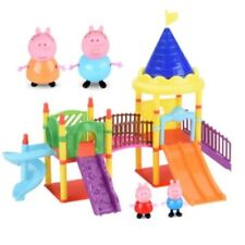 Peppa Pig Playground Toy Set With Accessories 4Pcs Educational Toys For Kid Gift