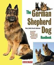 The German Shepherd Dog Handbook (Barron's Pet Handbooks)-ExLibrary