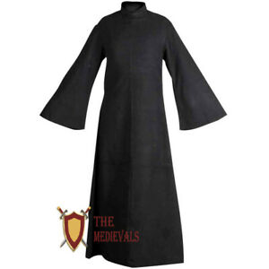 Medieval Renaissance Abraxas Canvas Robe Cotton tunic Sca LARP plane Clothing