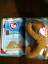 Humphrey the Camel- Retired Authentic Ty Beanie Baby Orig Packaging McDonalds