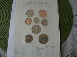 2021 ANNUAL SET 2021  COIN SET 1 PENNY - 2 £