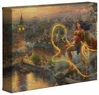 Thomas Kinkade Studios Wonder Woman Lasso of Truth 8 x 10 Wrap Canvas