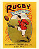 Rugby Cigarettes - VINTAGE ADVERTISING ENAMEL METAL TIN SIGN WALL PLAQUE
