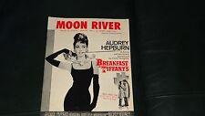 Moon River Sheet Music Mercer & Mancini  Breakfast at Tiffany's - Audrey Hepburn