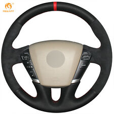 Non slip Suede Steering Wheel Cover for Nissan Teana 2008-2012 Murano 2009-2014