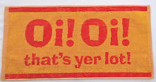 Oi! Oi! that's yer lot Bartuch/ beertowel ca. 50 x 25 cm 100% Baumwolle