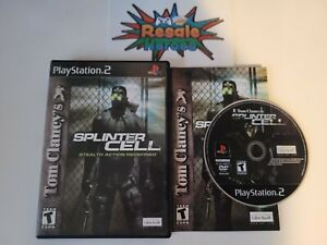 Tom Clancy's Splinter Cell Sony PlayStation 2 PS2 - Complete