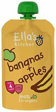 Organic Apples & Banana Baby Food +4 Months - 120g - Pack of  7