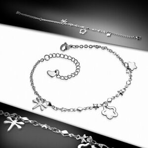 Bracelet Chain/Anklet IN Alloy Of Clasp With Pliers Lobster Lock E