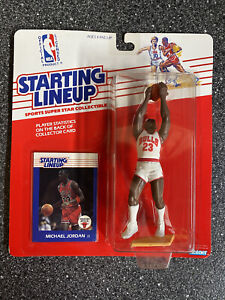 1988 Kenner Starting Lineup Michael Jordan Rookie PSA ready? Clear Bubble! Mint!
