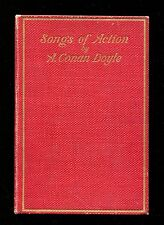 SONGS OF ACTION - SIR ARTHUR CONAN DOYLE 1st edition 1898 hardcover Doubleday