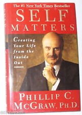 Self Matters Dr. Phil McGraw 2001 Life Help Book Great Pictures!