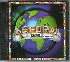 Peter Criss - One For All CD +8 Pgs. Booklet 2007 [NEW]