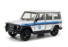 Jurassic World 2015 Movie MERCEDES-BENZ G550 1:43 Scale Diecast Jada Toys Silver
