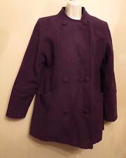 Edinburgh Woolen Mill (EWM) UK12 EU40 US8 purple jacket with 60% wool