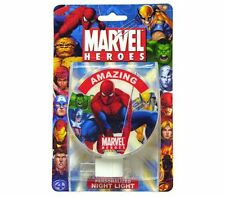 Marvel SuperHeroes Spiderman Wolverine Hulk Capt' America Kids NIGHT LIGHT Lamp