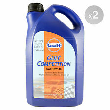 Gulf Competition 10w-40 racing engine oil (10w40) - 2 x 5 Litre