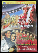 Double Feature DVD Roy Rogers My Pal Trigger The Cowboy and the Senorita