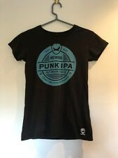 BrewDog T Shirt Tee Top Nero Blu Logo Birra Birreria piccolo 100% COTONE ECO