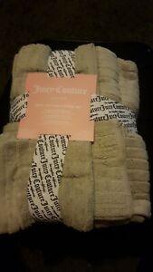 Juicy couture Grey 6 Piece Towel Bale