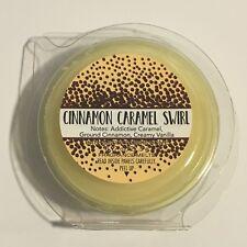 NEW 1 BATH BODY WORKS CINNAMON CARAMEL SWIRL WARMER WAX FRAGRANCE MELTS TART .97
