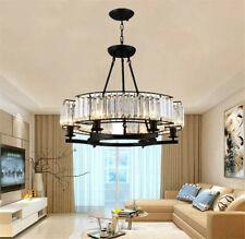 New ListingModern Crystal E14 6-Light Chandelier Home Lighting Ceiling Fixtures Decor Lamps