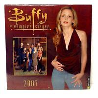 RARE Buffy The Vampire Slayer - BUFFY 2007 CALENDAR - Sealed BTVS 12 Months