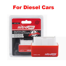 Nitro OBD2 Plug & Drive Performance More Power Chip Tuning Box for Diesel Cars