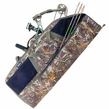 Elkton Compound Bow Case Soft Padded Camo Storage Hunting Archery Protection