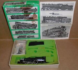 "Bowser HO Trains .. ""PRR K-4 Pacific 4-6-2 Steam Locomotive & Tender"" w/ Box"