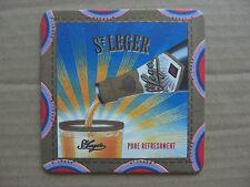 St Leger Beyond The Cool Spring Water Wine Orange Juice Vintage Beer Mat UNUSED