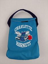 Vintage 90s NBA CHARLOTTE HORNETS Insulated Lunchbox Lunch Box Cooler RARE