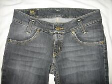 Women's Lee Leola Jeans Boot Cut Stretch Black Zip Fly Size 28-31