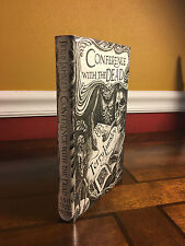 """1996 1st Edition """"CONFERENCE WITH THE DEAD"""" Terry Lamsley  Ash Tree 500 copies"""