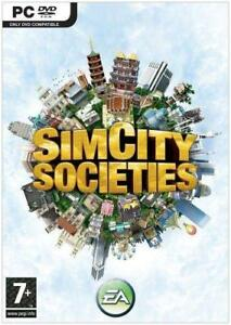 Simcity Societies PC game new sealed English game Danish packaging sims city