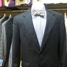 BROOKS BROTHERS Vintage Wool Suit 40R - 32x29 Charcoal Black Stripe Pattern EUC!