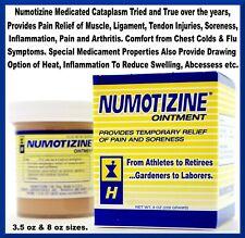 Numotizine Cataplasm Human Personal Care Pain/Injury/Healing/Flu Ointment. 3.5oz