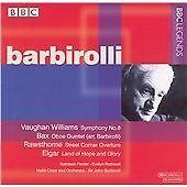 """CD BBC LEGENDS BBCL 4100-2 Vaughan Williams et al """"Symphony No.8"""" etc Barbirolli"""