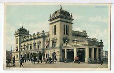 1906 - Union Station, The Brinson Railway, Savannah, Georgia Trains Postcard