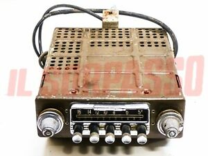 Car Radio Autovox Ra 19 + Power Pack Fiat 1100 103 Lancia Aurelia Alfa 1900