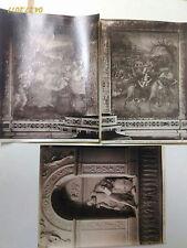 fine '800 lotto 3 foto albumina chiesa s.Onofrio Roma. T.Tasso
