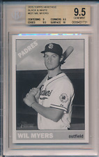 2015 Topps Heritage Black & White /5 Wil Myers #621 BGS 9.5 10 Sub POP 1 Padres